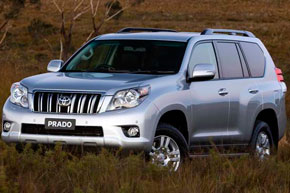 ������ ���������� � ������ TOYOTA LAND CRUISER PRADO